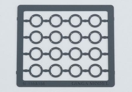 銀河モデル[N-155] プレート輪芯4孔