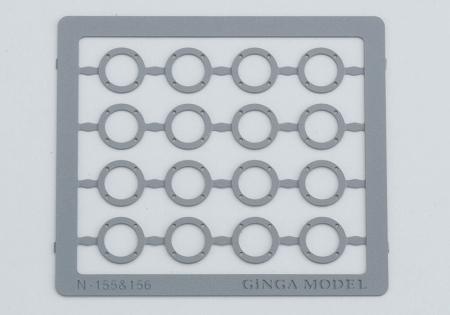 銀河モデル[N-156] プレート輪芯4孔