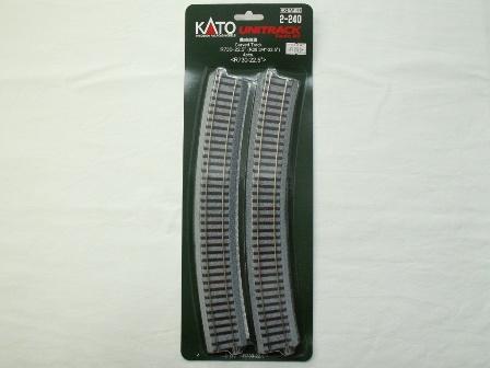 KATO 曲線線路R730-22.5°(R730-22.5) 4本入[2-240]