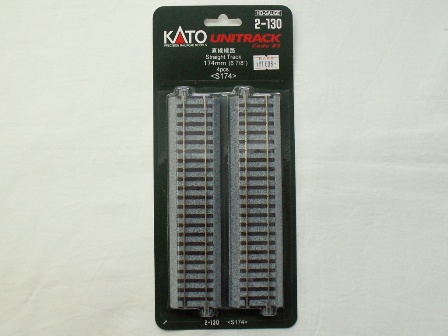 【30%OFF】KATO[2-130] ストレートレール S174