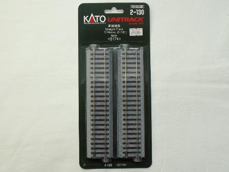KATO 直線線路174mm(S174) 4本入[2-130]
