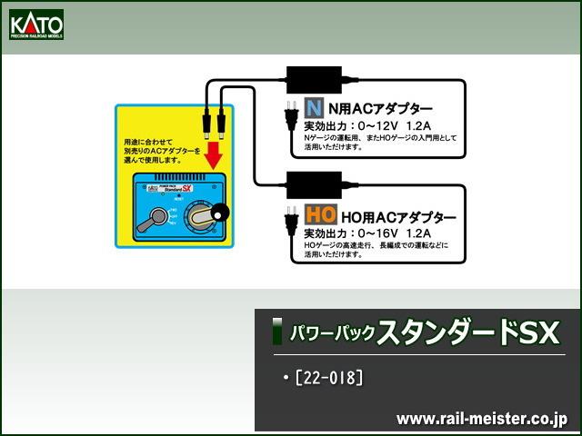 KATO パワーパック スタンダードSX(ACアダプター別売)[22-018]