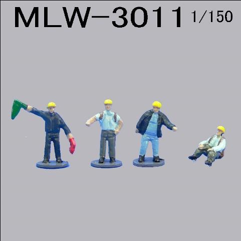 PRO-HOBBY 森林鉄道作業員[MLW-3011]