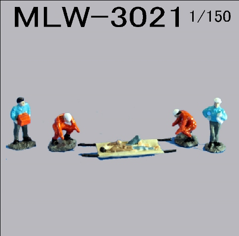 PRO-HOBBY レスキュー隊1[MLW-3021]