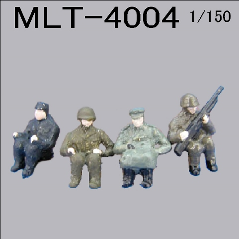PRO-HOBBY ミリタリー 搭乗員[MLT-4004]