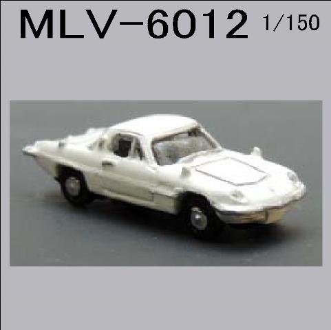 PRO-HOBBY スポーツカー1 ホワイト[MLV-6012]