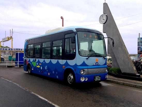 レールクラフト阿波座 愛知県南知多町海っ子バス(ポンチョ)ラッピングデカール[RCA-D39]