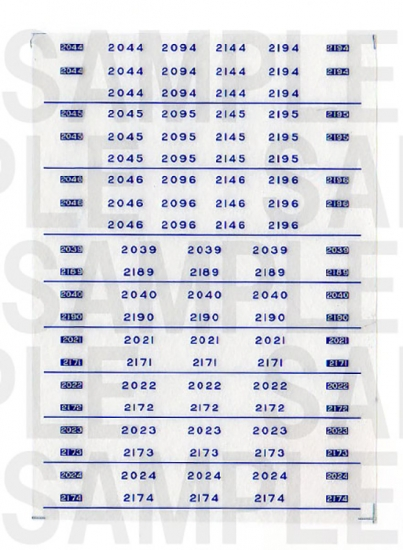 レールクラフト阿波座 南海2000系 車番【2】(MA・新塗装用)[RCA-IN22]