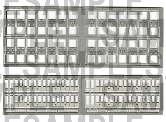 レールクラフト阿波座 阪急リニューアル客扉パーツセット(4両分)[RCA-P083]
