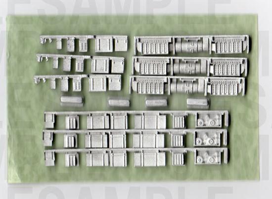 レールクラフト阿波座 阪神3011形(鉄コレ用・3両編成分)[RCA-Y11]