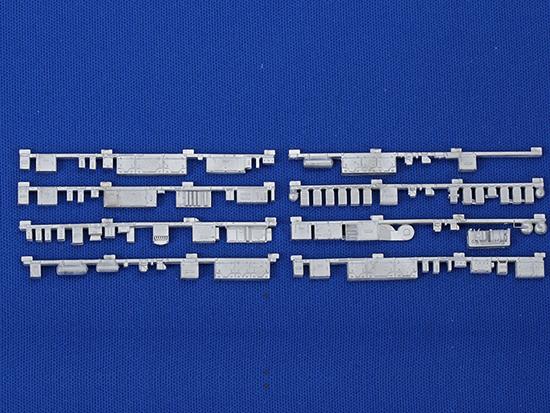 レールクラフト阿波座 東武8000系4両編成用床下機器【1】(8R編入車用8198Fなど)[RCA-Y18]