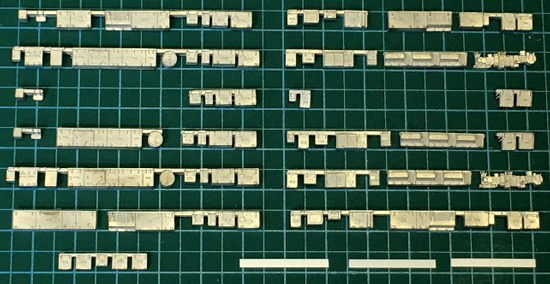 レールクラフト阿波座 北神急行7000系用【1】(更新前)[RCA-Y28]