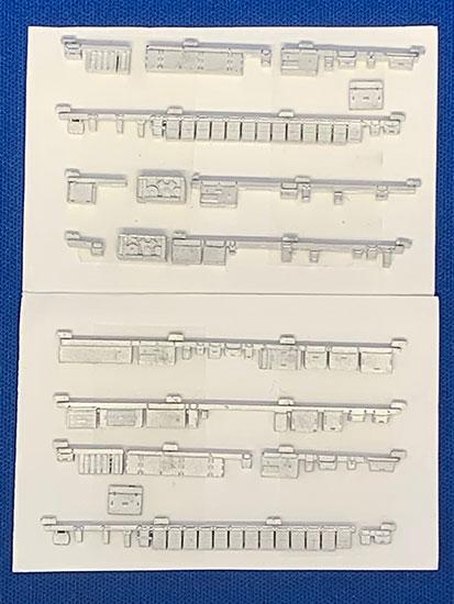 レールクラフト阿波座 南海6000系冷房改造車床下機器パーツ(鉄コレ用・基本4両編成用)[RCA-Y30]