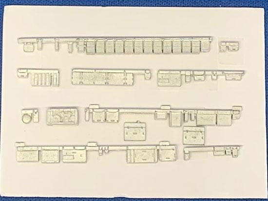 レールクラフト阿波座 南海6000系冷房改造車床下機器パーツ(鉄コレ用・増結2両後パンタ編成用)[RCA-Y32]