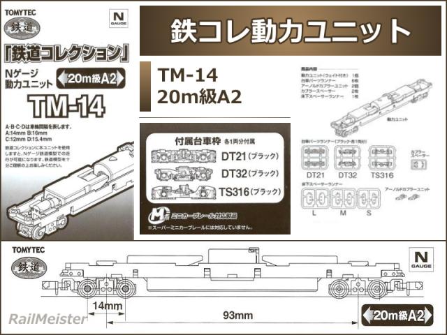 トミーテック 鉄道コレクション 動力ユニット 20m級A2[TM-14]