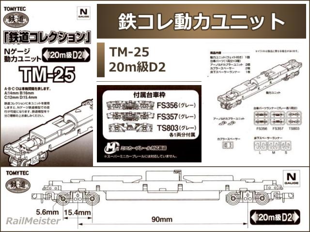 トミーテック 鉄道コレクション 動力ユニット 20m級D2[TM-25]