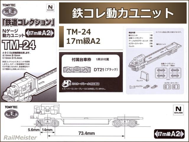 トミーテック 鉄道コレクション 動力ユニット 17m級A2[TM-24]