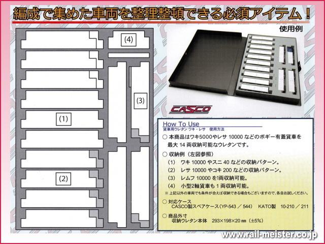 CASCO 貨車用ウレタンB(ワキ・レサ)[YP-059/YP-060]
