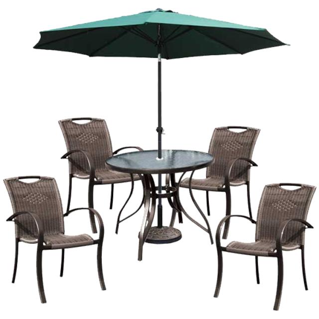 ガーデンテーブル&チェアセット