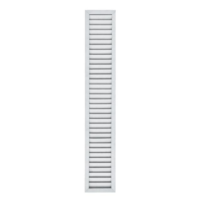 [単品] アイウッドルーバーラティス1753 ホワイト◇ 幅300mmX高1750mm R1753W