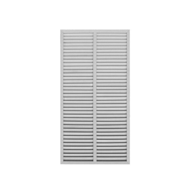 [単品] アイウッドルーバーラティス1759 ホワイト◇ 幅900mmX高1750mm R1759W