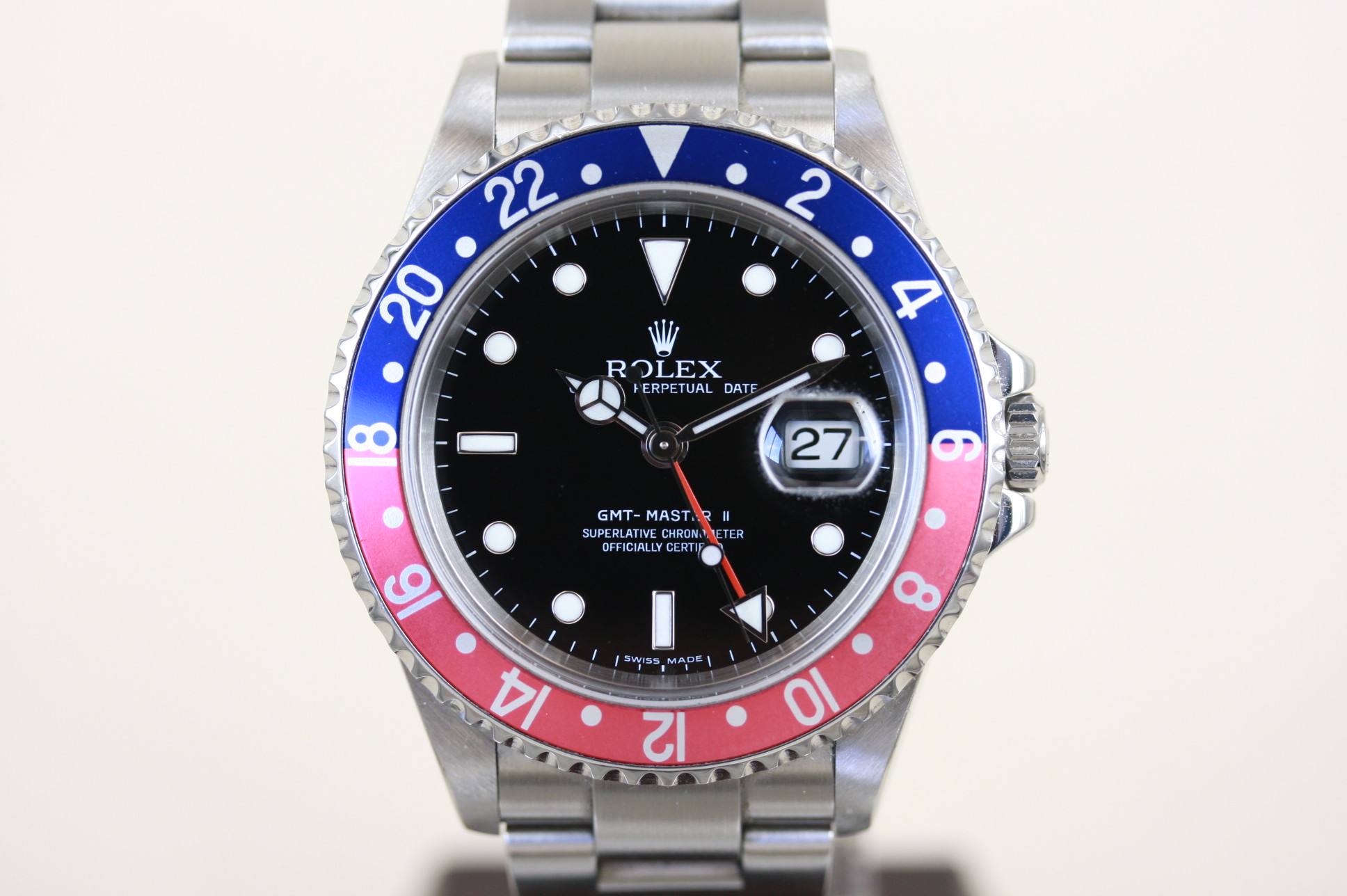 GMTマスター2 16710 D番
