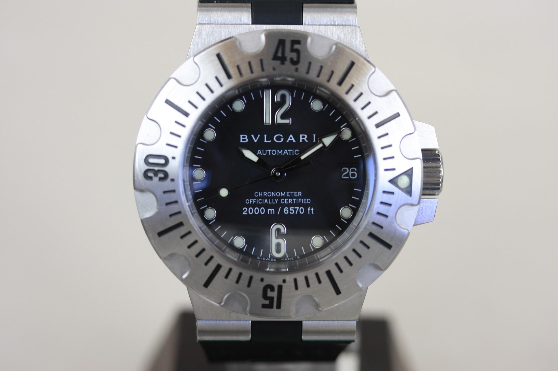 ブルガリ ディアゴノ プロフェッショナル SD42SVD SOLD