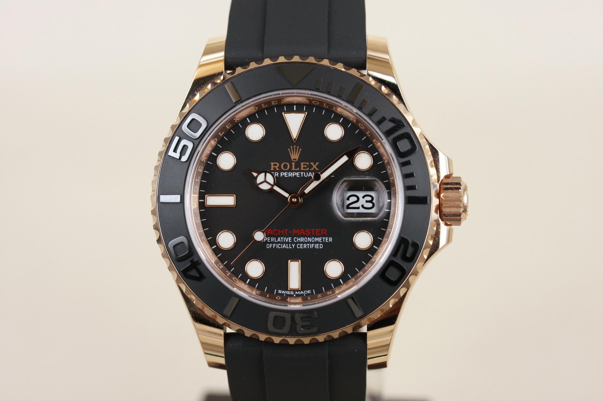 ヨットマスター40 116655 ランダム番 SOLD