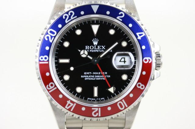 GMTマスター1 16700 X番 OH半額特典付き SOLD