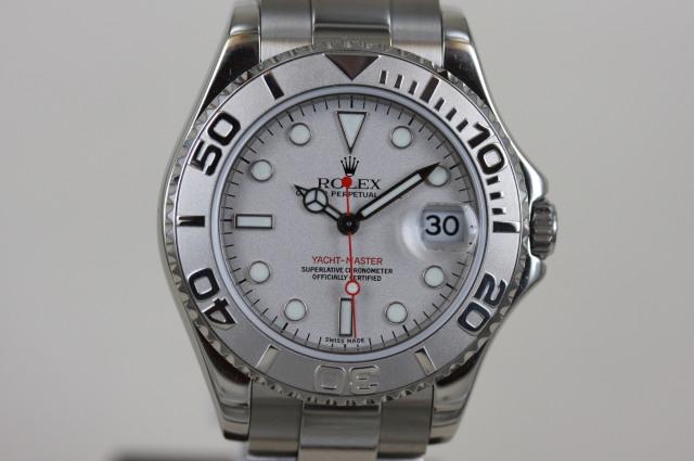 ヨットマスター ロレジウム 168622 P番 SOLD