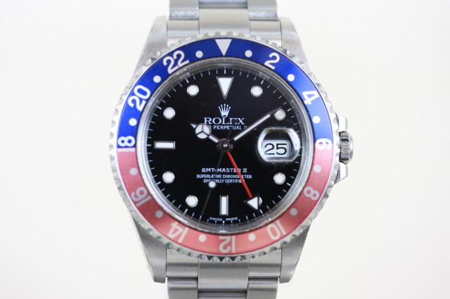 GMTマスター2 16710BLRO  K番  SOLD