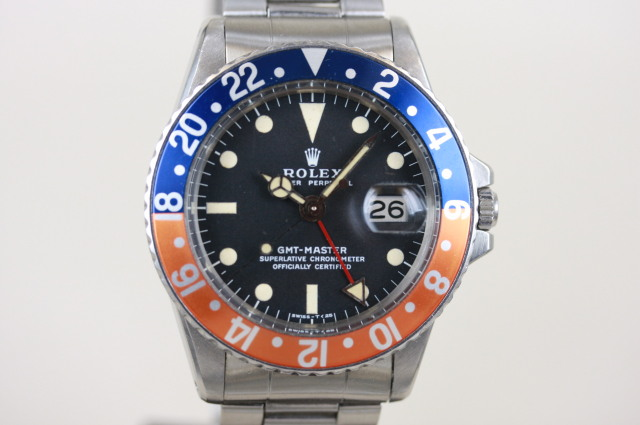 GMTマスター 1675 SOLD