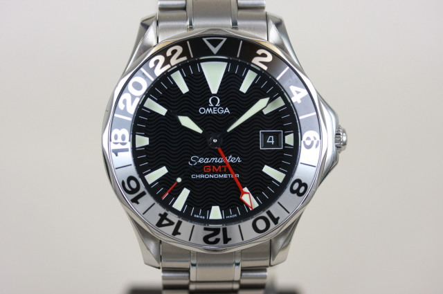 オメガ シーマスター GMT ジェリー・ロペス 2536.50 SOLD