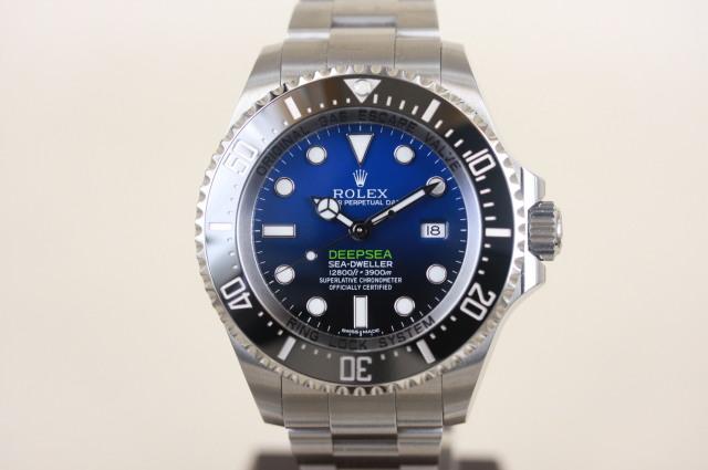 ディープシー Dブルー 116660 ランダム番 SOLD