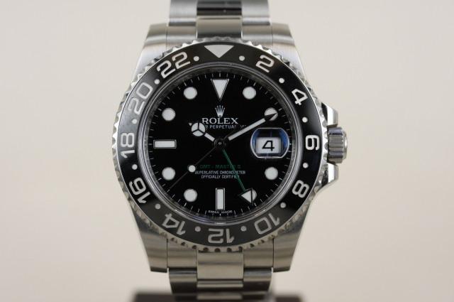 GMTマスター2 116710LN G番 SOLD