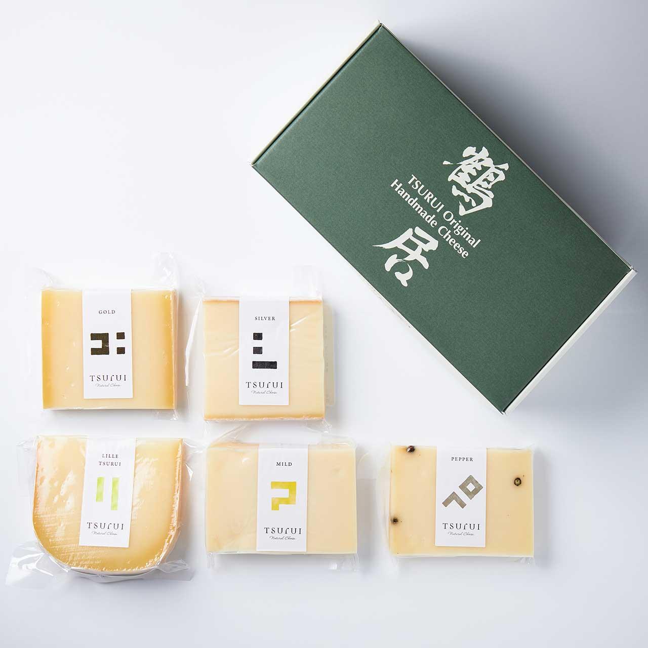ナチュラルチーズ「鶴居」鶴居チーズセット
