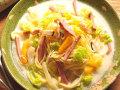 イタリア産モルタデッラハムと野菜のクリームスープ 生パスタ 通販 お取り寄せ