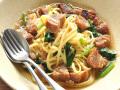 生パスタ ドルチェポルコ豚角煮とほうれん草の和風生パスタ 通販 お取り寄せ