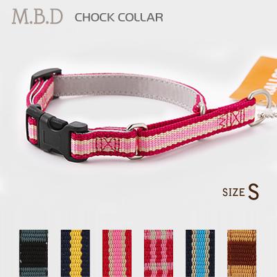 小型犬用ハーフチョーク ラロック MBD ハーフチョークカラー バックル付き Sサイズ しつけ首輪
