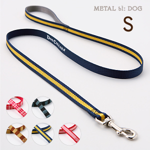 【メール便のみ送料無料】ラロック メタルビードッグ カジュアルリード Sサイズ 小型犬用リード (メール便可 ギフト包装可)