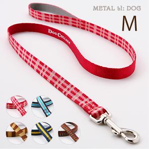 ラロック メタルビードッグ カジュアルリード Mサイズ 中型犬用リード