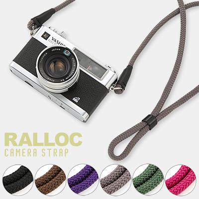 【メール便のみ送料無料】 ラロック RALLOC 組紐タイプ カメラストラップ 01 (ネックストラップ メール便可)