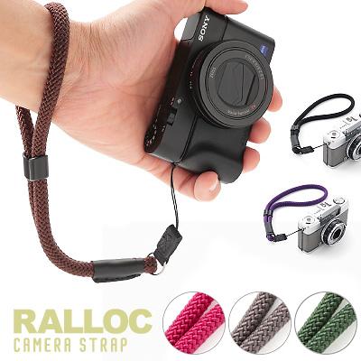 【メール便のみ送料無料】 ラロック RALLOC 組紐タイプ ミラーレス・コンパクトカメラ用ハンドストラップ 02 (メール便可)