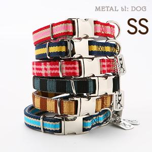 【メール便のみ送料無料】ラロック メタルビードッグ カジュアルカラー SSサイズ 超小型犬用首輪 (メール便可 ギフト包装可)