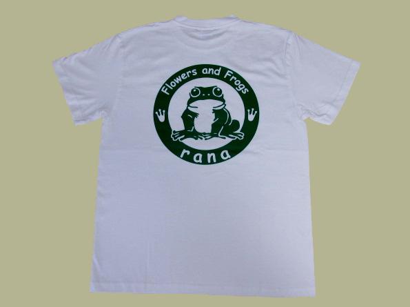 rana logo 白 Tシャツ 【DM便可】