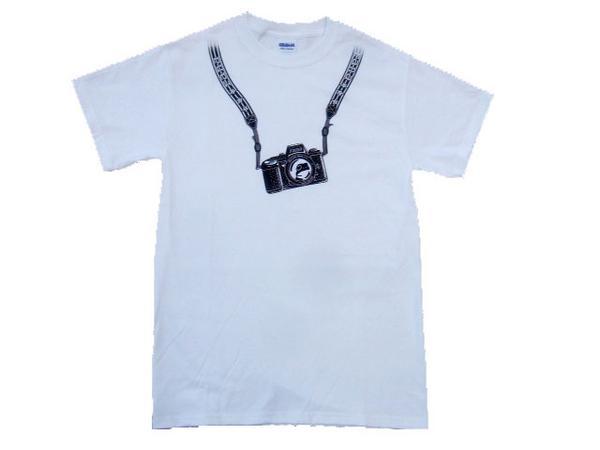 カメラTシャツ