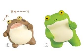 froggys マスコット のぞき見(小)