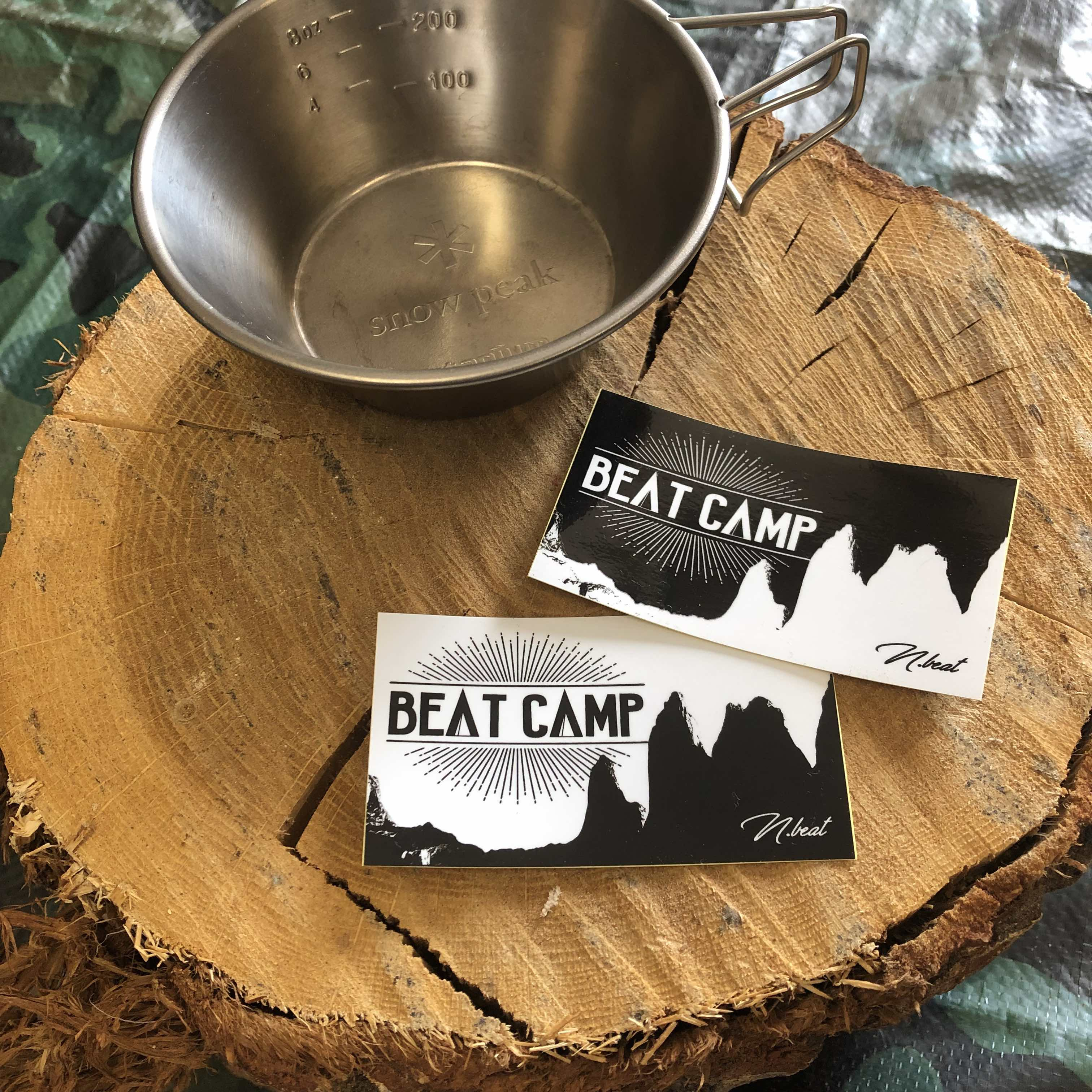 beatcampステッカー