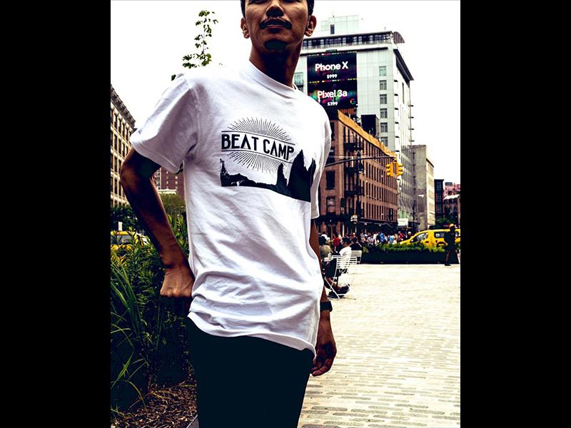 BEAT CAMP Tシャツ