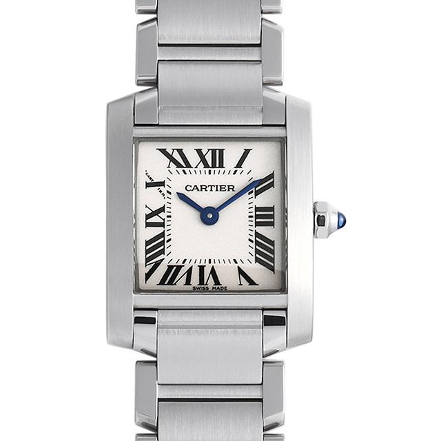 彼女へのクリスマスプレゼント 高級腕時計 カルティエ タンクフランセーズ SM W51008Q3